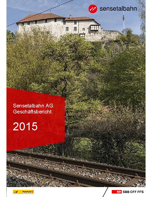 STB Geschäftsbericht 2015
