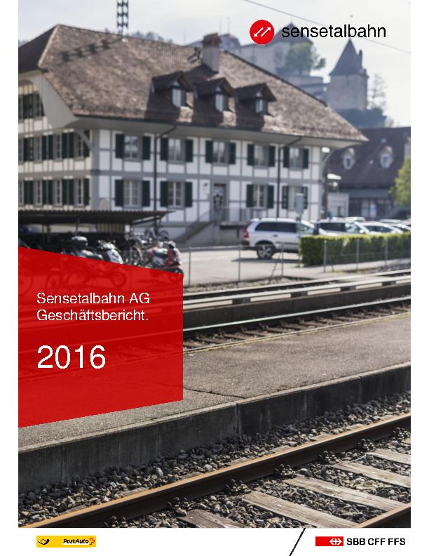 STB Geschäftsbericht 2016