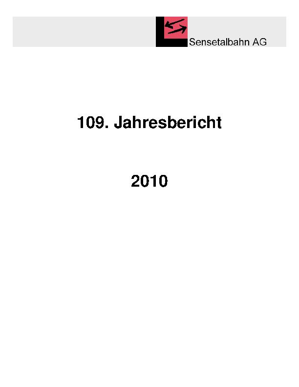 STB Jahresbericht 2010