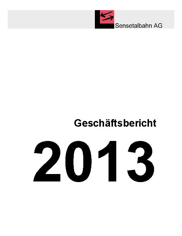 STB Jahresbericht 2013