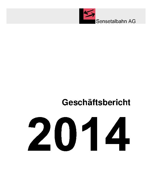 STB Jahresbericht 2014
